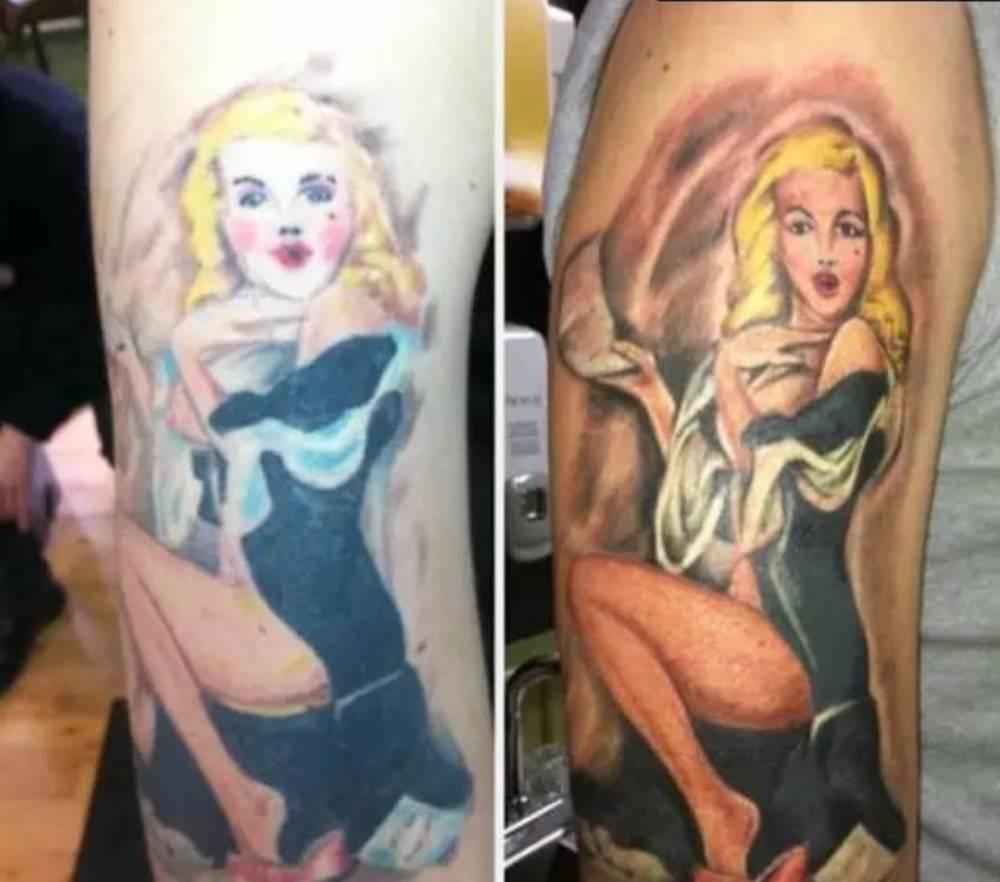 有种丑纹身叫:都是纹身师的错!