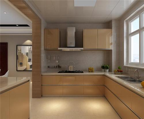 2,厨房装修效果图现代简约