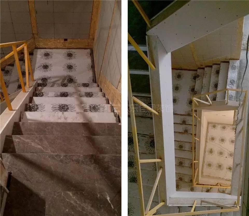 条安装▼   楼梯墙板基层打底.▼   文成隔墙施工▼   基础造价:79万