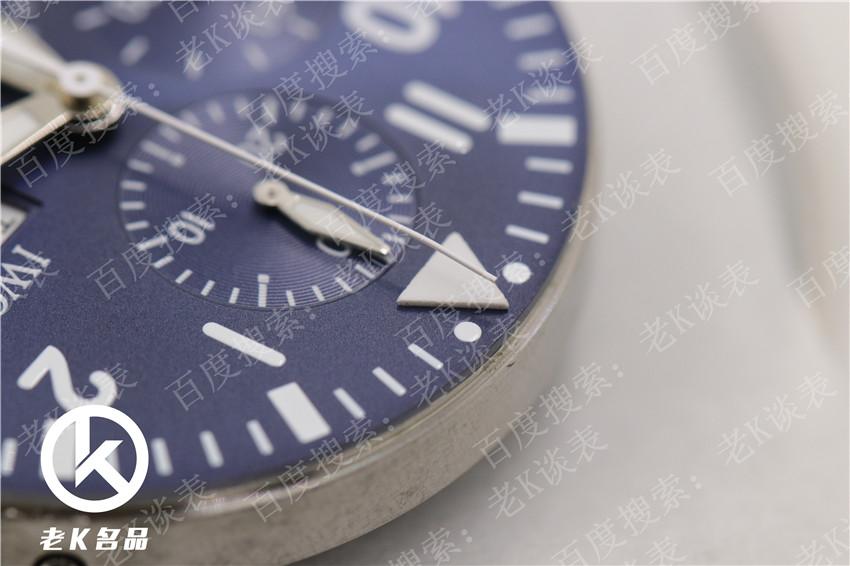 老K谈表第117期:ZF厂顶级复刻万国小王子飞行员计时拆解评测!