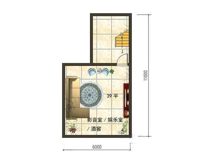 有地下室的才叫自建别墅!新农村三层复式楼自建房图片