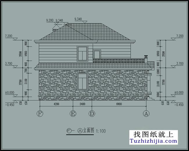2米 建筑结构:砖混结构                   搜索:http://tuzhizhijia.