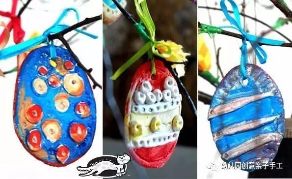 幼儿园亲子手工之复活节彩蛋