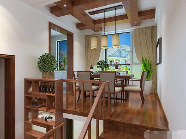贵阳三居室新中式风格装修案例 喜欢中式快看过来