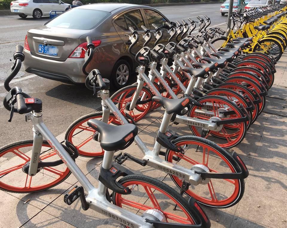 将规划共享单车公共区域停车位,不能再乱停了!