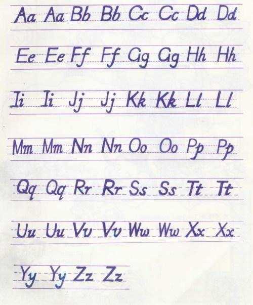 基础: 26个英文字母大小写