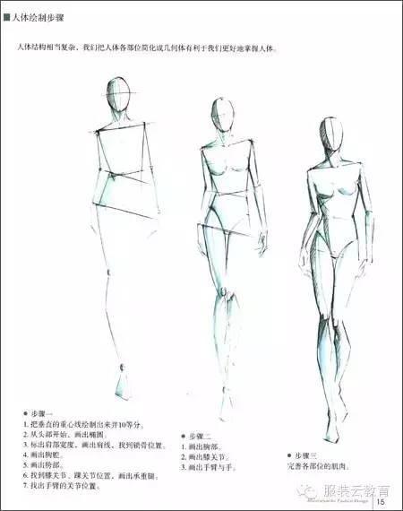 时装画技法入门 | 如何画人体!