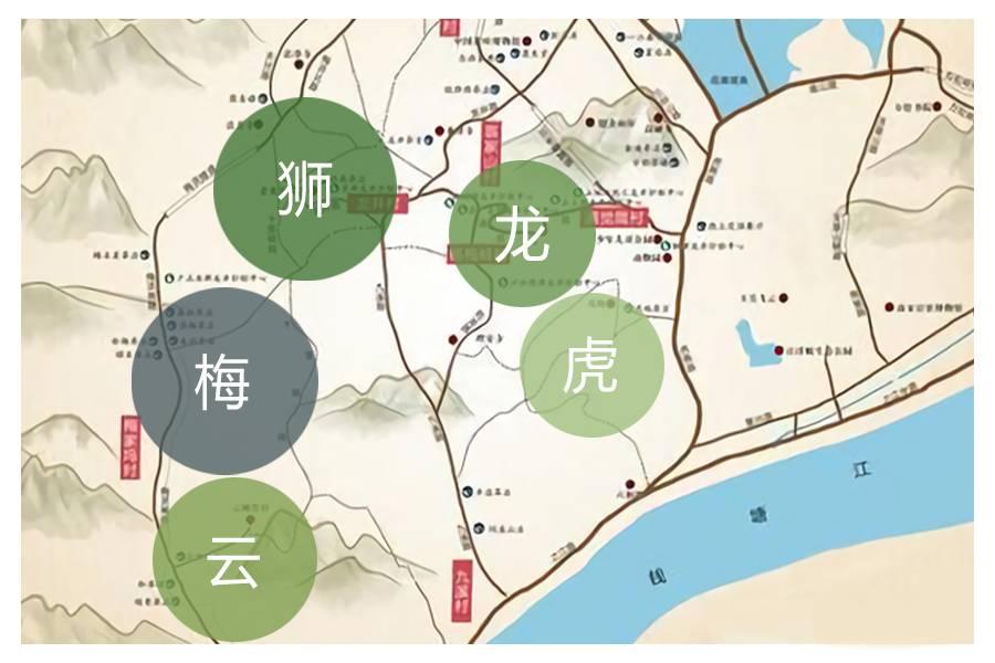 美食 正文  龙井茶有以下三个产区: 03 分类(西湖内) 西湖产区又细分图片