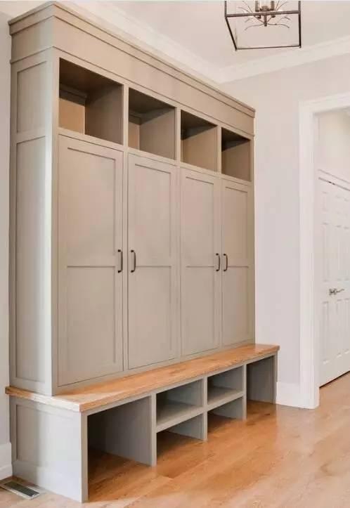 这样的入户鞋柜设计,收纳,换鞋,一次解决!图片