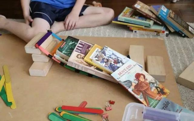 幼儿园亲子手工之冰棍棒