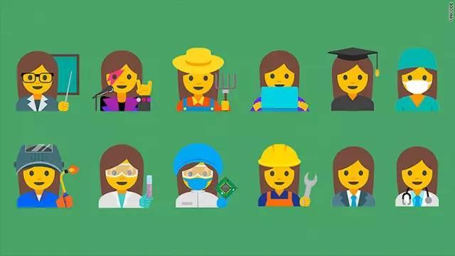 还有一些厂商推出了带有品牌特色的 emoji 表情,比如图片
