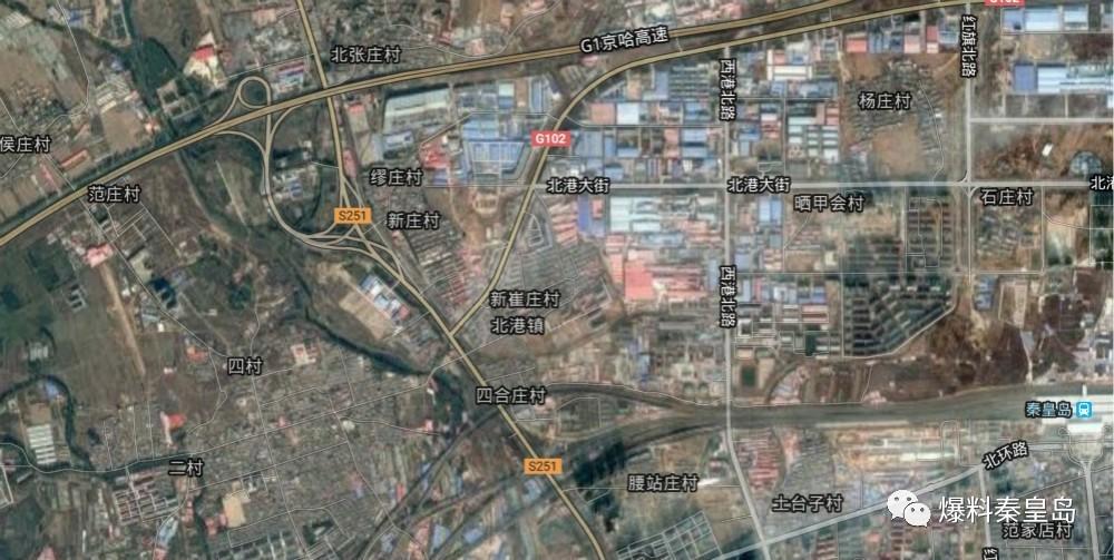 卢龙老城区规划图