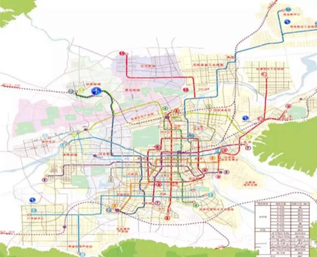 最新高速,高铁,地铁线路在这!西安正式定位为