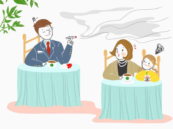 二手烟有害 孕期如何机智躲避