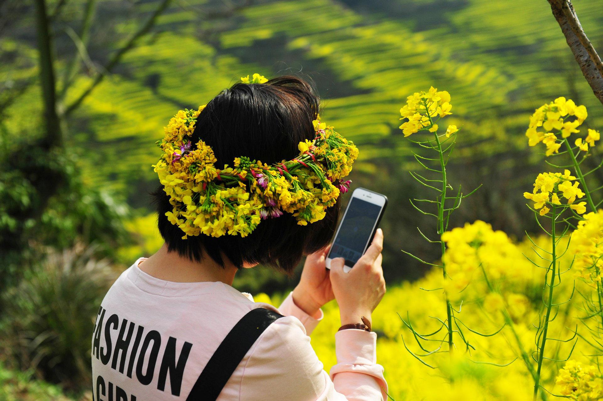 篁岭:春天引万人涌入,是人间,还是天堂 - 淡雅~如菊 - 淡雅`如菊 ⌒_⌒ 爱摄影 爱生活