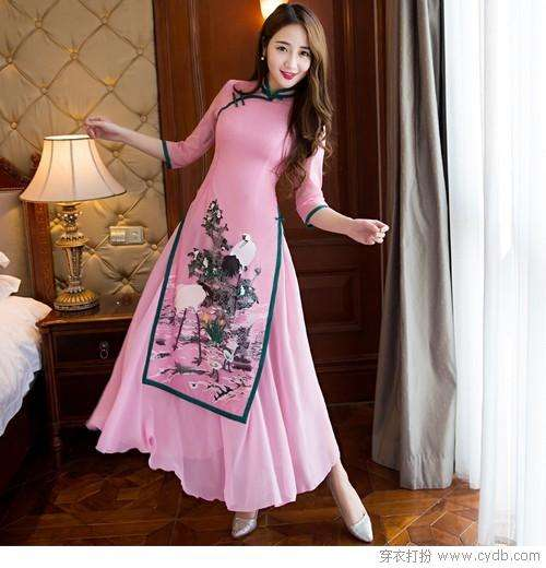 春季里的裙装都怎么穿:美丽时尚好看就穿裙装