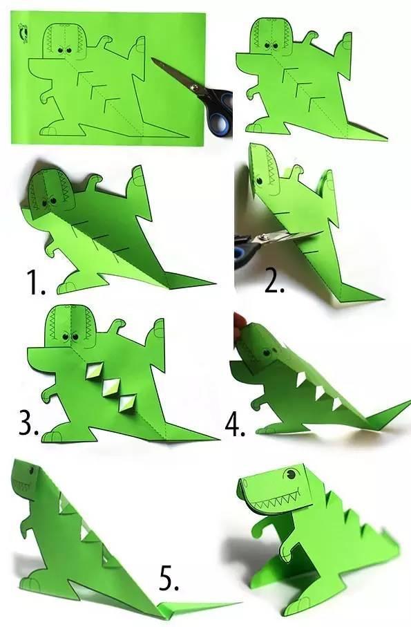 幼儿园亲子手工之折纸