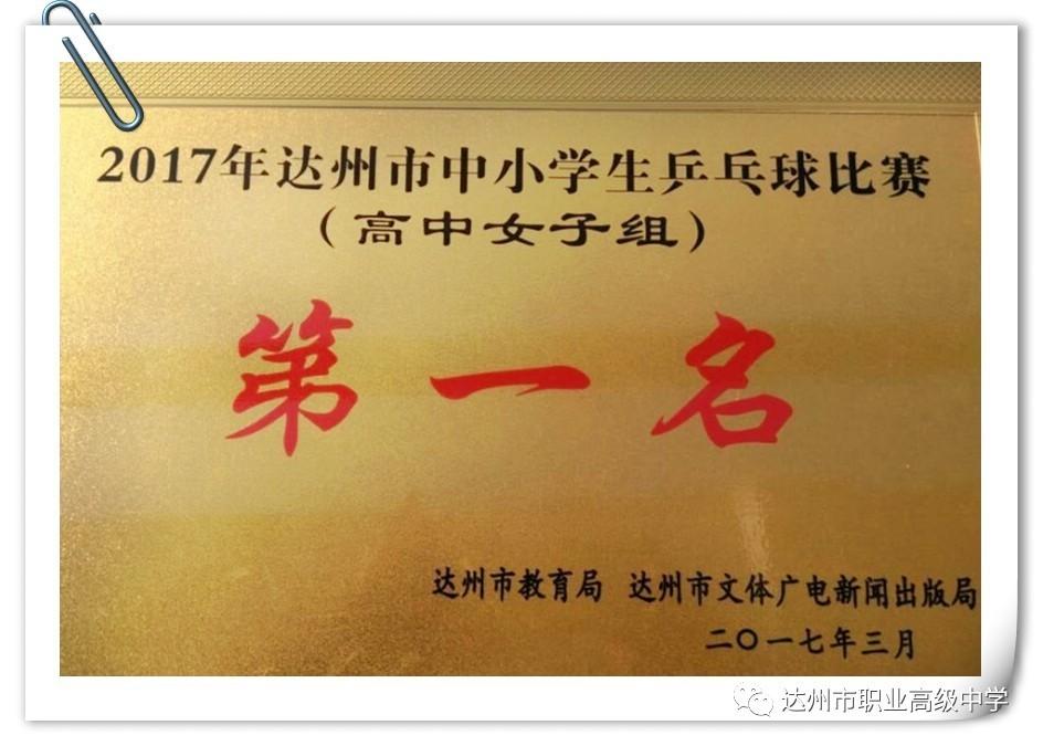 【主观】勇夺冠军-我校荣获2017年达州市文化中小题喜报高中图片