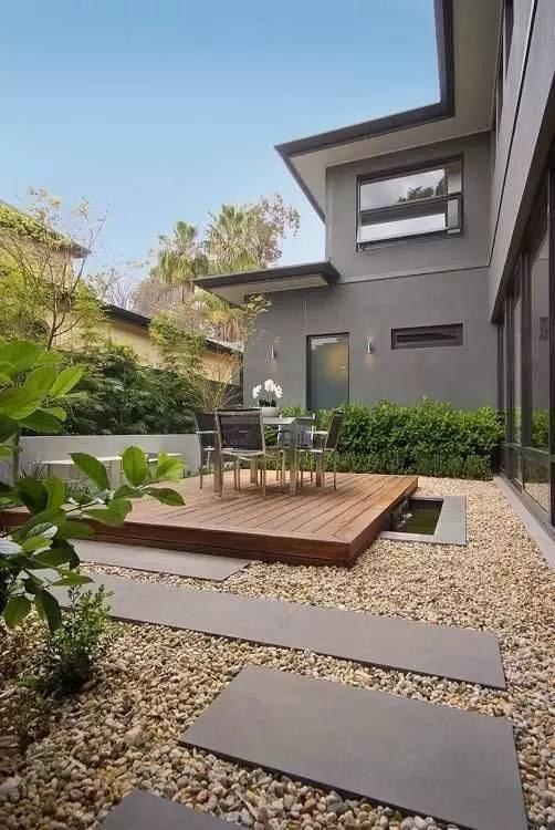 极简主义庭院花园设计