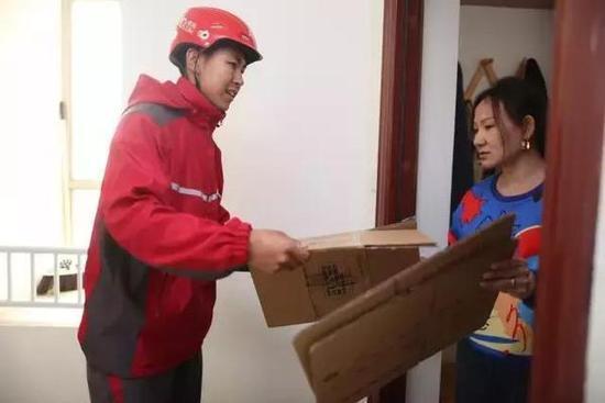 京东为保护环境,回收旧纸箱,可换京豆