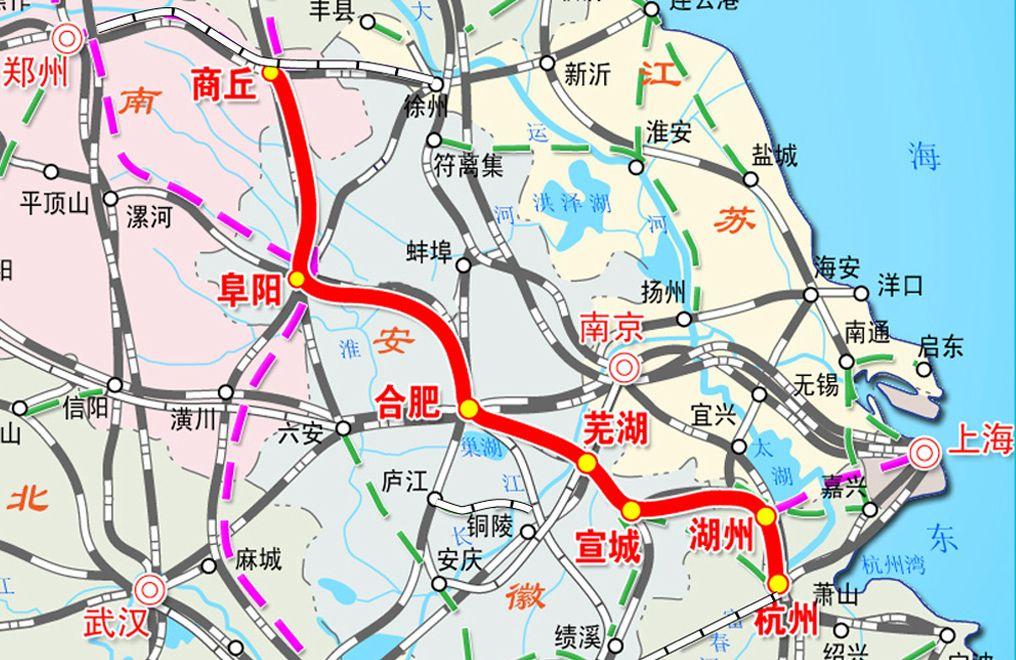 郎溪高铁规划图
