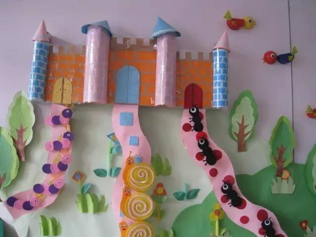 【原创】9款幼儿园主题墙手工环创,美爆了!图片