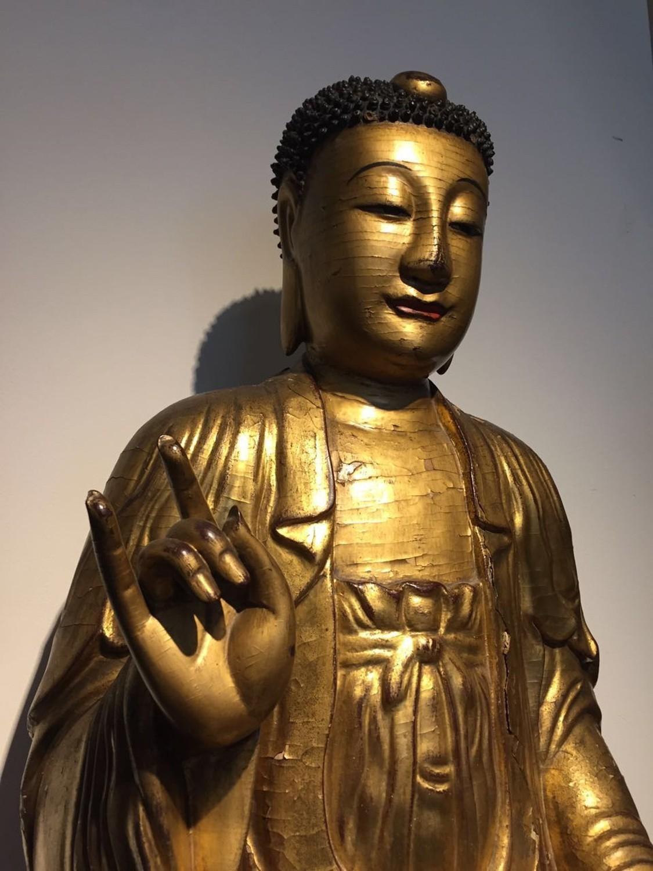 如来佛像中国古代雕塑