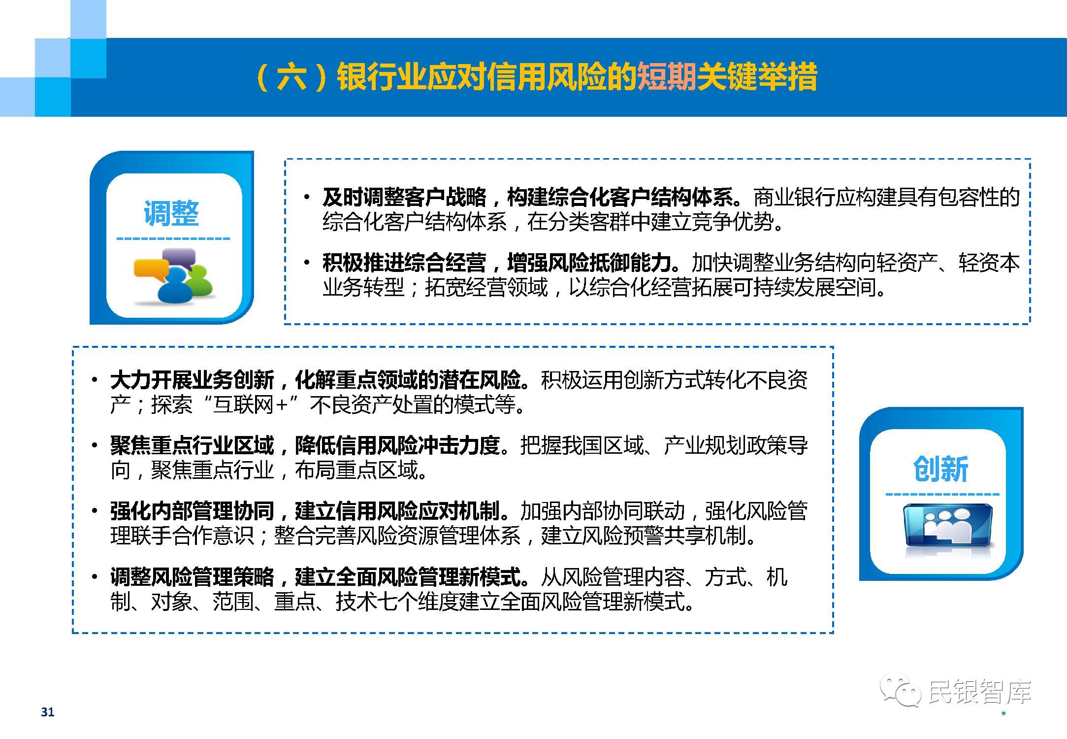民银智库:中国银行业不良资产的现状、处置与风险管理