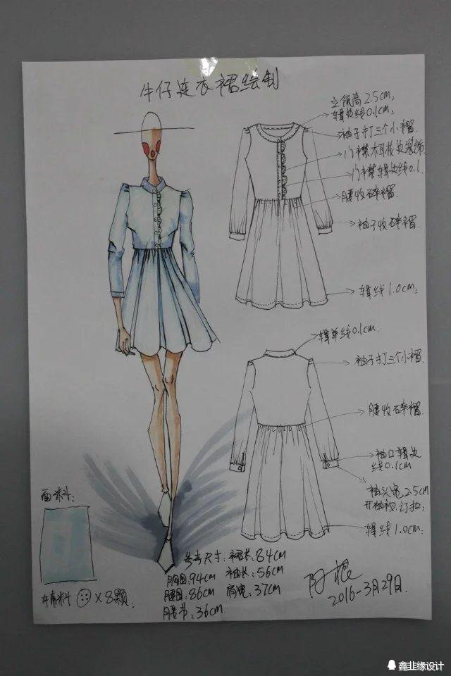 零基础一定要懂手绘效果图在服装设计中的作用!