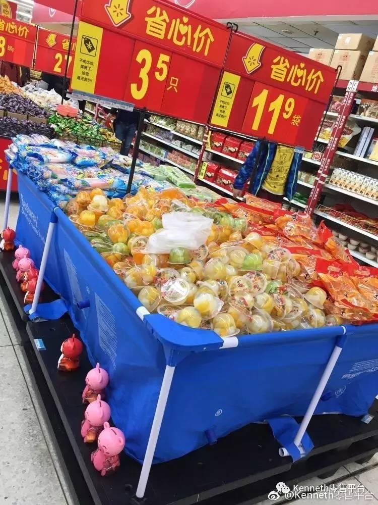 正文  最近kenneth在上海巡店的时候已经看到果冻   bb吹气泳池的陈列图片