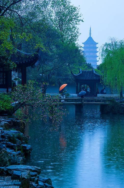 """享清闲安逸何必隐居山林,栖息在诗意""""上有天堂,下有苏杭""""的苏州,又何图片"""