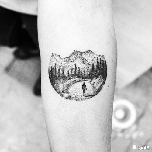 针管笔绘画纹身图案——来自艺术家amanda piejak