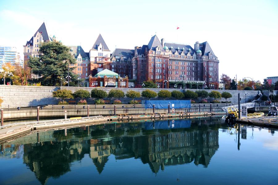 温哥华是加拿大的第三大城市,也是一个风情万种的城市.图片