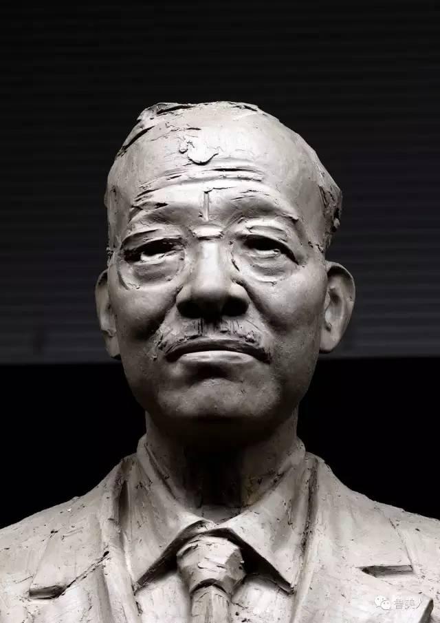 国学四大导师铸铜人物铸铜肖像雕塑