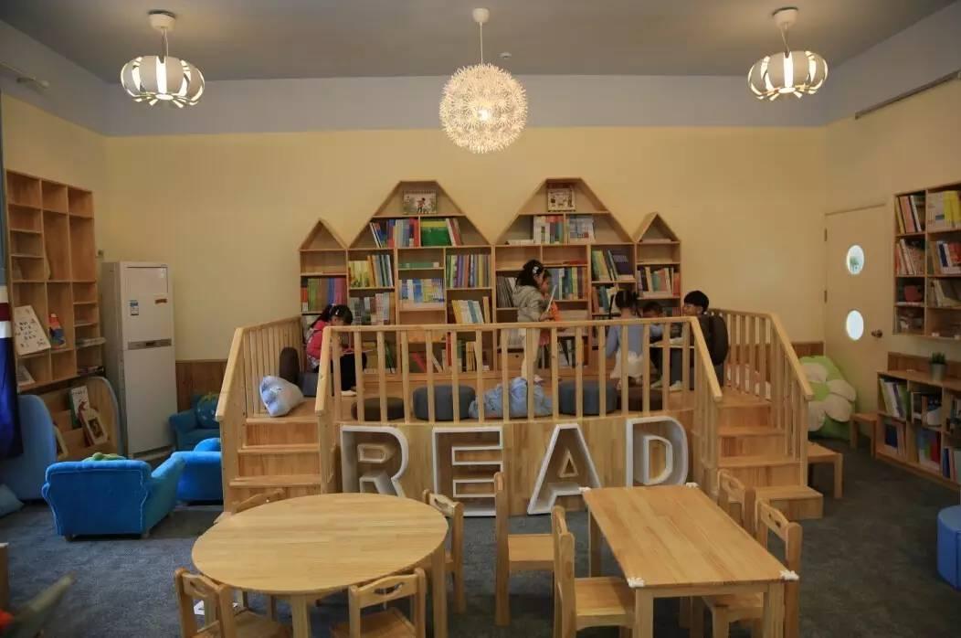"""第二教育署幼儿园各类""""舒适版"""",""""温馨版""""阅读室应运而"""