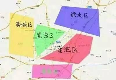 保定主城区规划