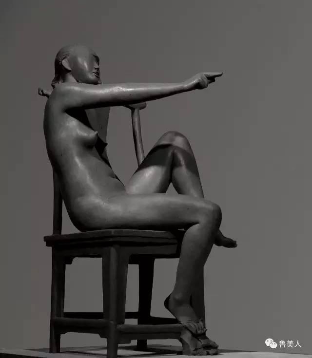 裸体当代创新人体雕塑艺术
