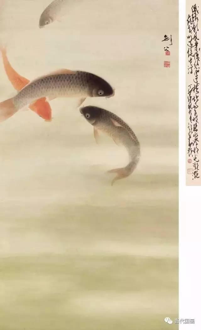 历代名家画鱼,连年有余图片