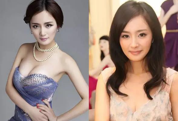 娱乐 正文  作为最性感的女主播和知名女明星,李小璐,杨幂凭借胸部的