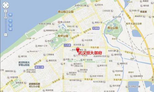 项目地址:武汉市临江大道滨江cbd(青山区临江大道与建设四路交汇处)图片