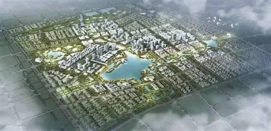 大江东新城规划图