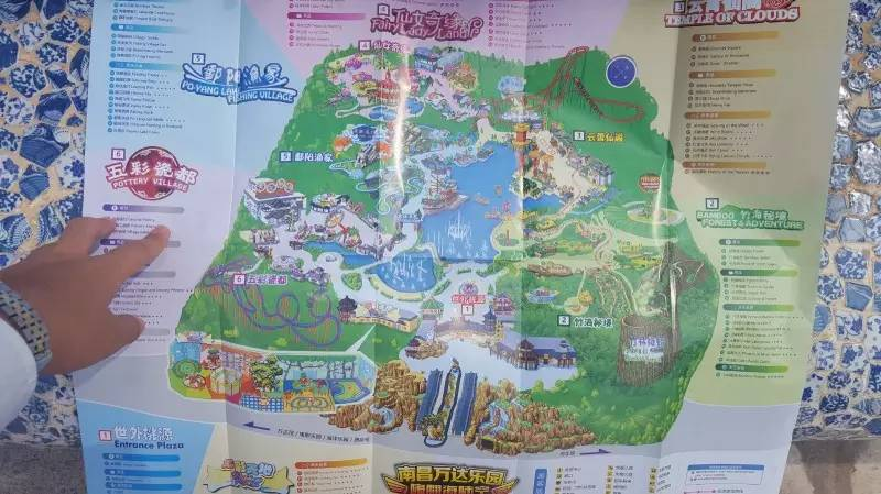 西双版纳万达手绘地图