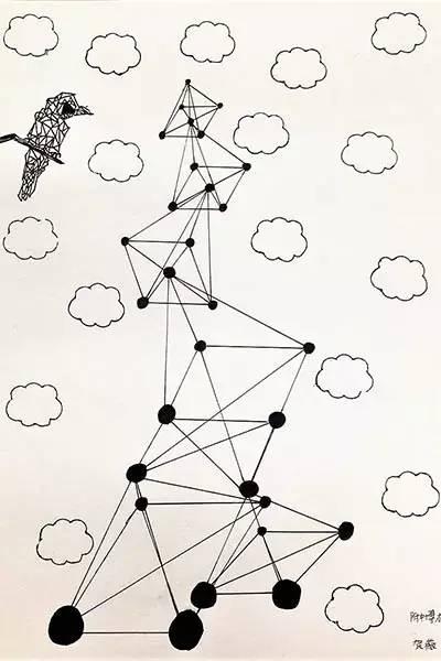 数学手绘画作品