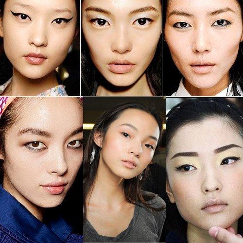 小眼睛单眼皮也是时尚!偷师超模画眼线法图片