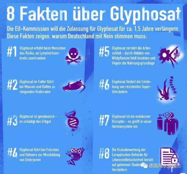 德媒声讨草甘膦的八大罪状, 欧洲征集百万签名要求禁止草甘膦 - 吕西群 - 吕西群博客