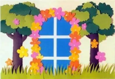 美术,绘画, 手工制作教程 ,幼儿园环境布置 ,角区,门窗,走廊,主题墙