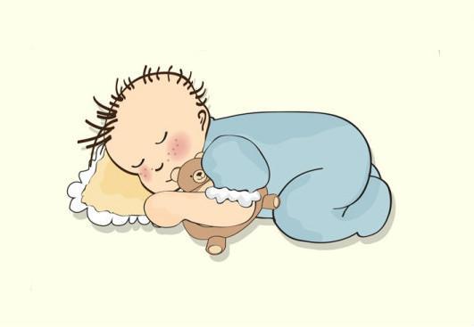 宝宝睡觉的姿势透露了他的性格,你家宝宝是哪种?图片