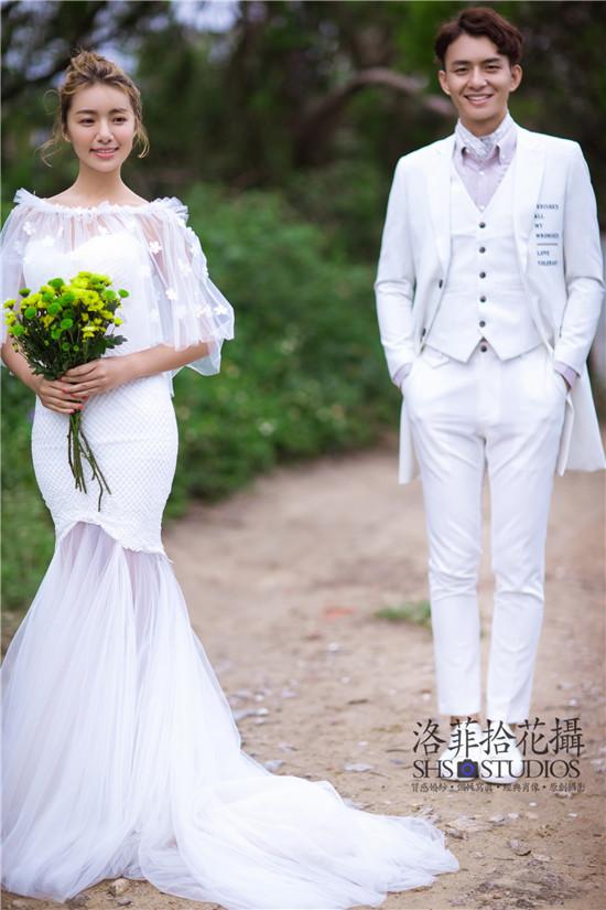 郑州婚纱摄影;婚纱照如何拍出修长性感美腿