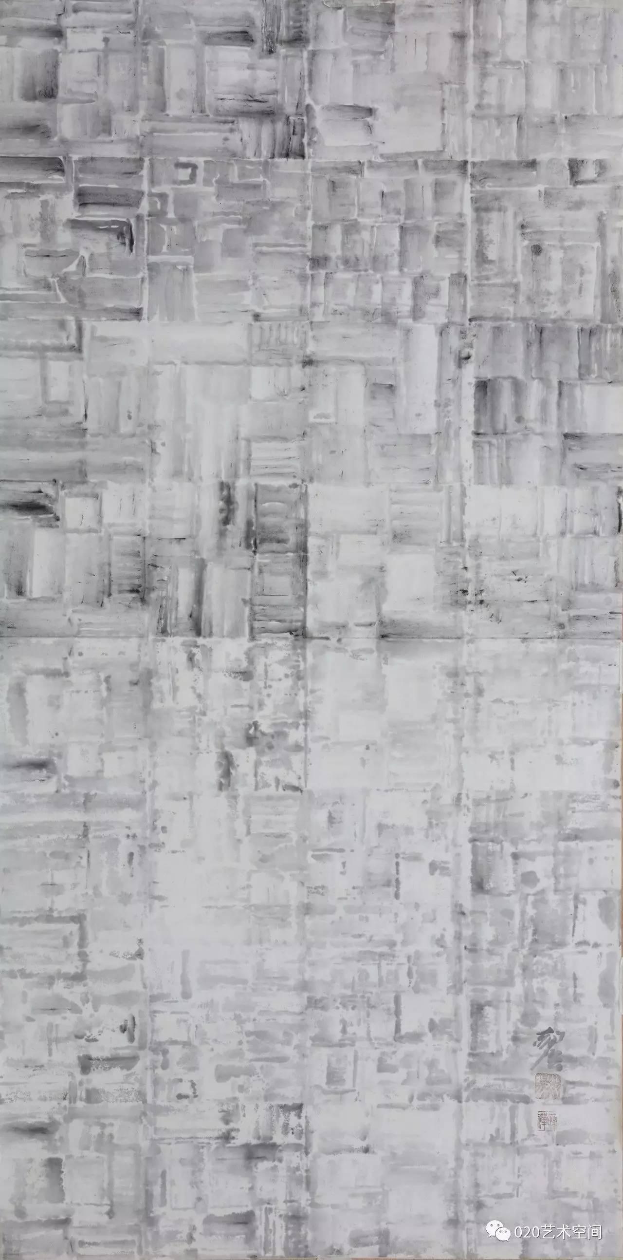 郝强 抽象水墨 作品欣赏