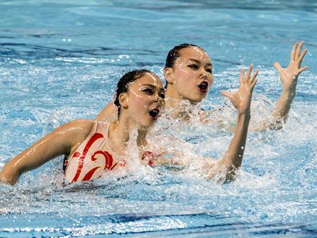 花样游泳赛4月在山西开赛,市民凭身份证可领门票